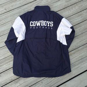💙 Reebok NFL Cowboys team apparel jacket